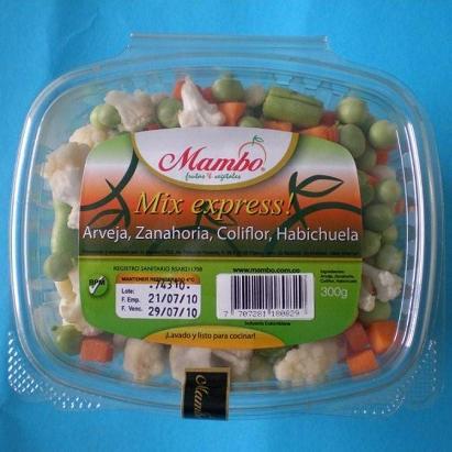 Mix Express - Peas-Carrot-Cauliflower-Beans