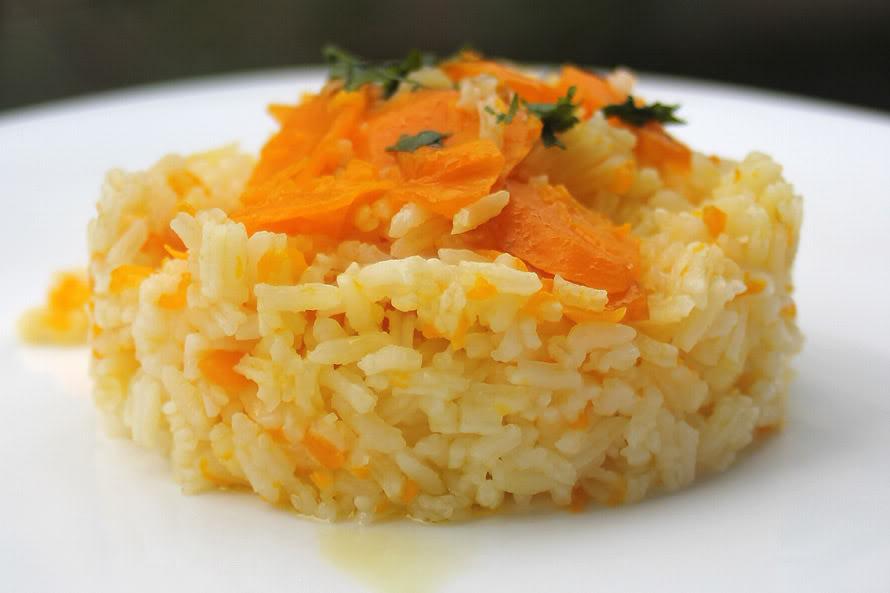 Arroz de zanahoria