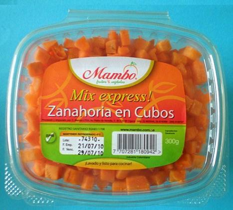Mix Express - Zanahoria en Cubos
