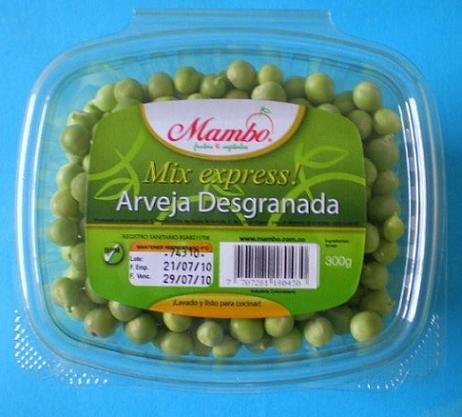 Mix Express - Shelled Peas