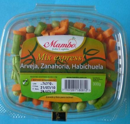 Mix Express - Arveja-Zanahoria-Habichuela