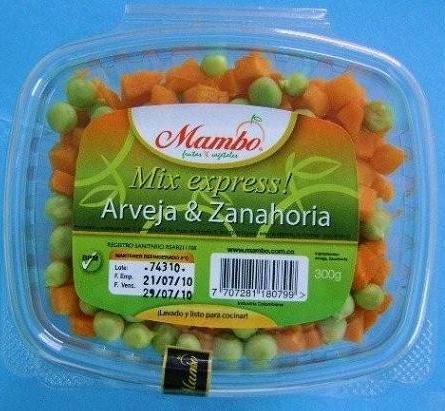 Mix Express - Arveja-Zanahoria